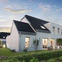 Maisons en bande à Rosenau
